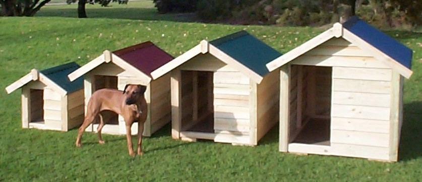 Dog Kennels - Dog Houses