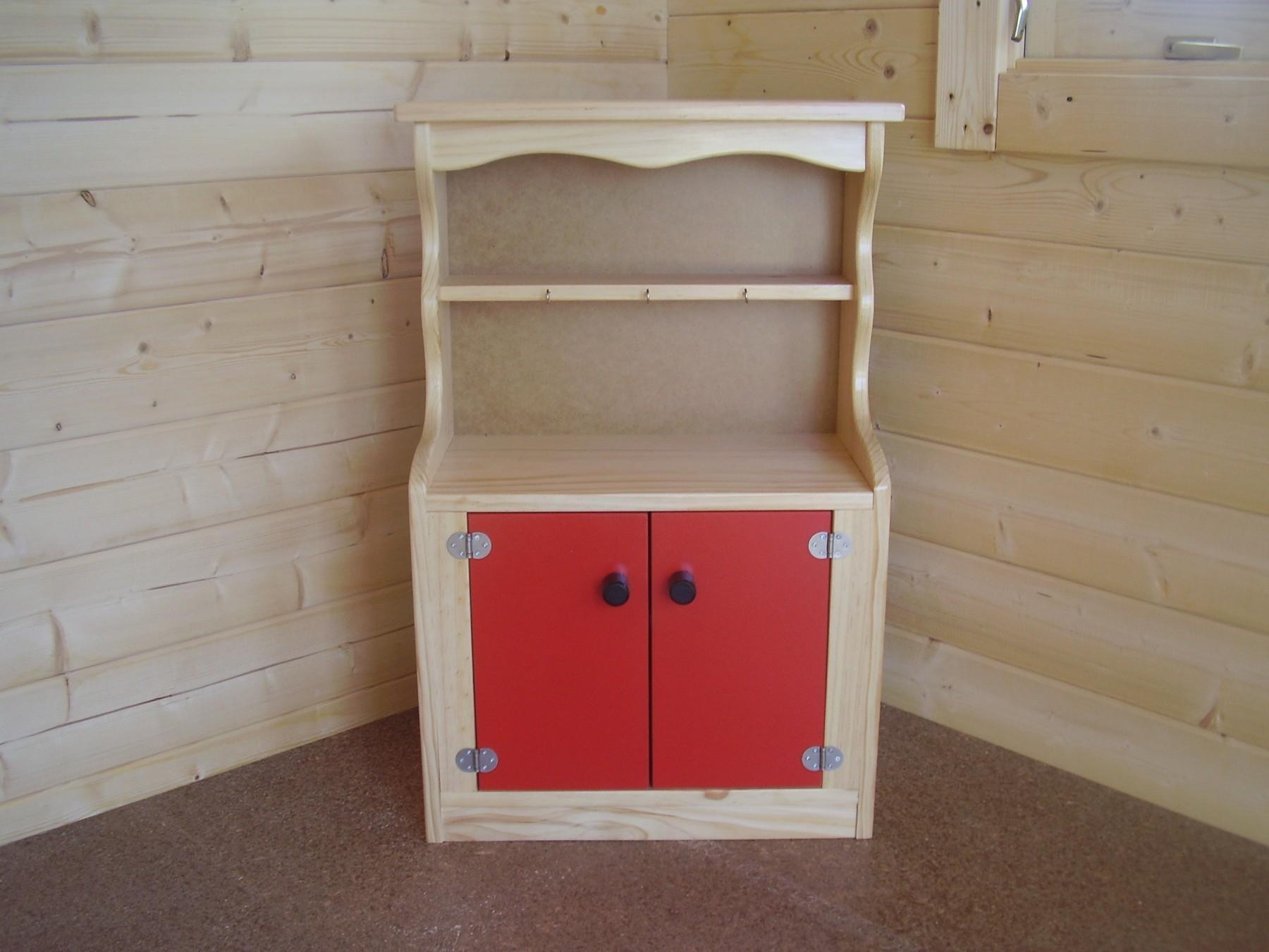Kids Wooden Kitchen Dresser