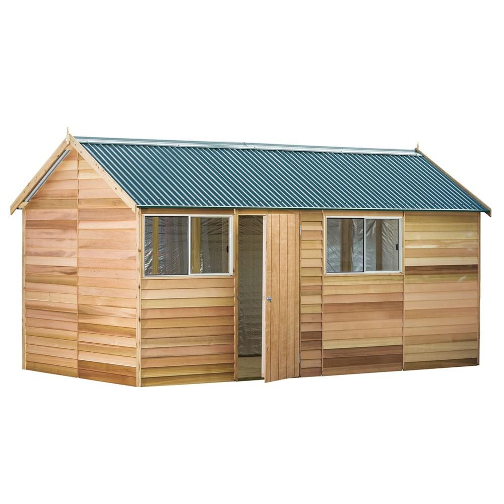 Fernglen cedar shed for Garden shed 4 x 2