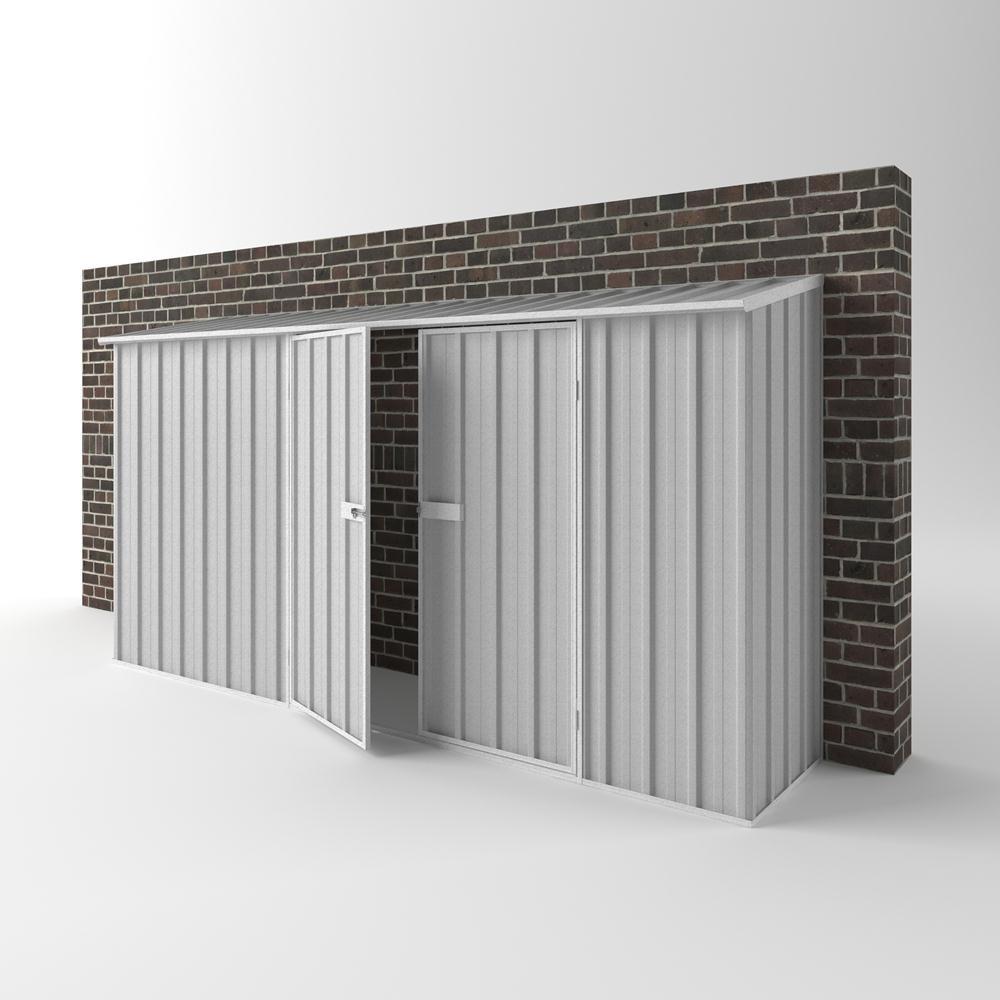 garden shed zinc otw ew d x off the wall