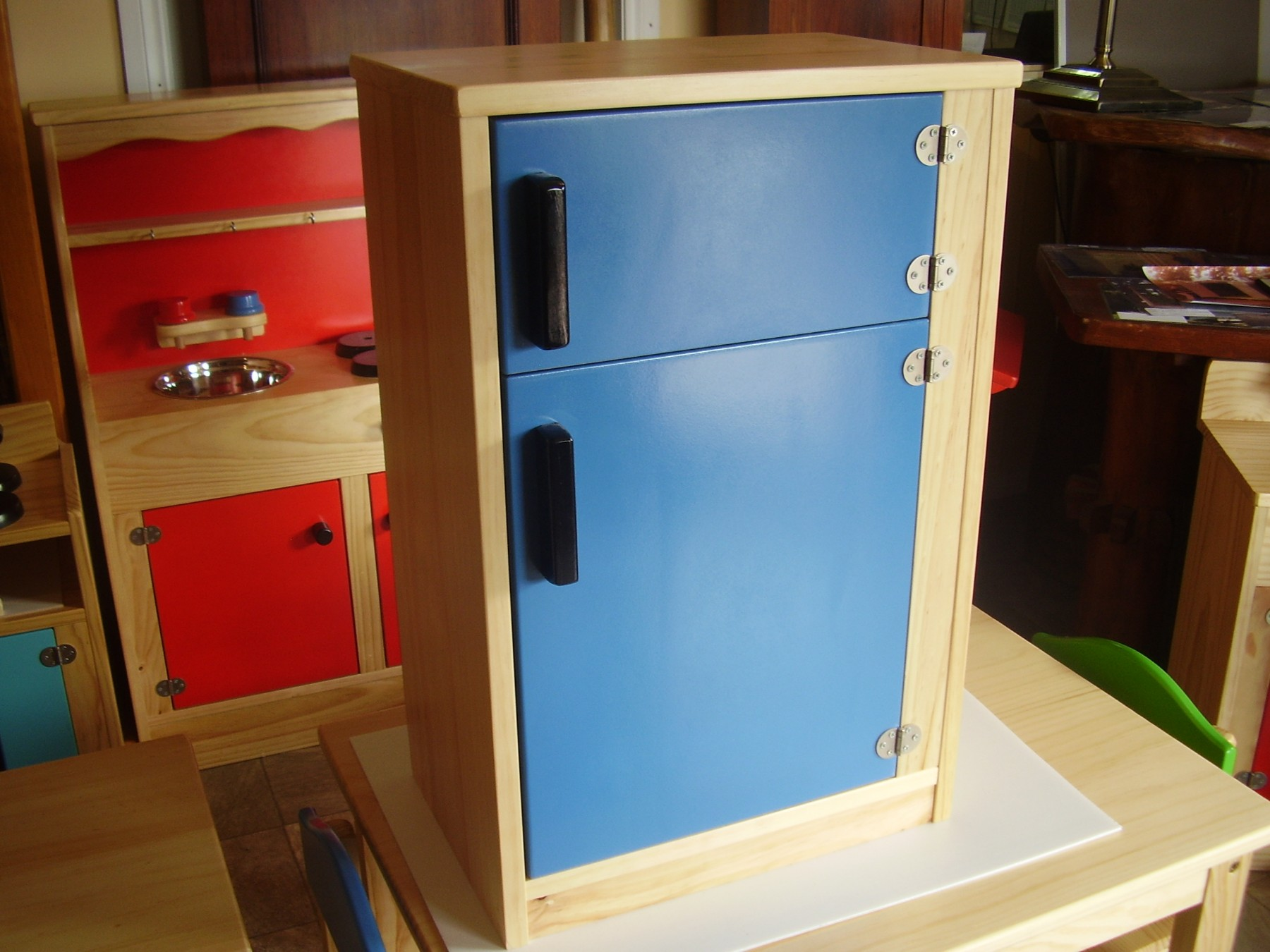 Wooden Fridge