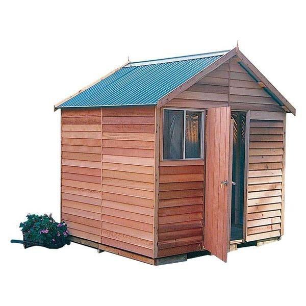 Garden Shed Cedar Shed Kallista - 2.5m X 2.4m X 2.65m