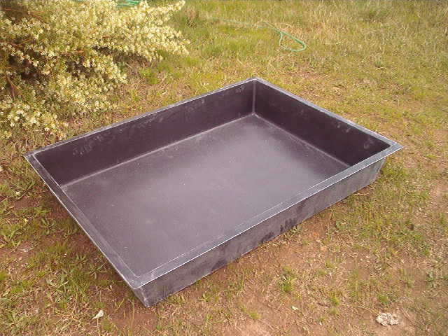 Pond Rectangle Fibreglass  Fish Pond Water Feature Fountain