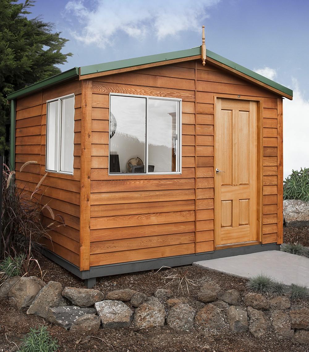 Garden Shed The Retreat Cedar Shed, Cabin, Studio 3.0w x 3.2d x 2.6h