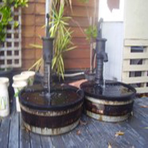 Fountain Cast Iron Village Pump Fountain Water Feature Outdoor