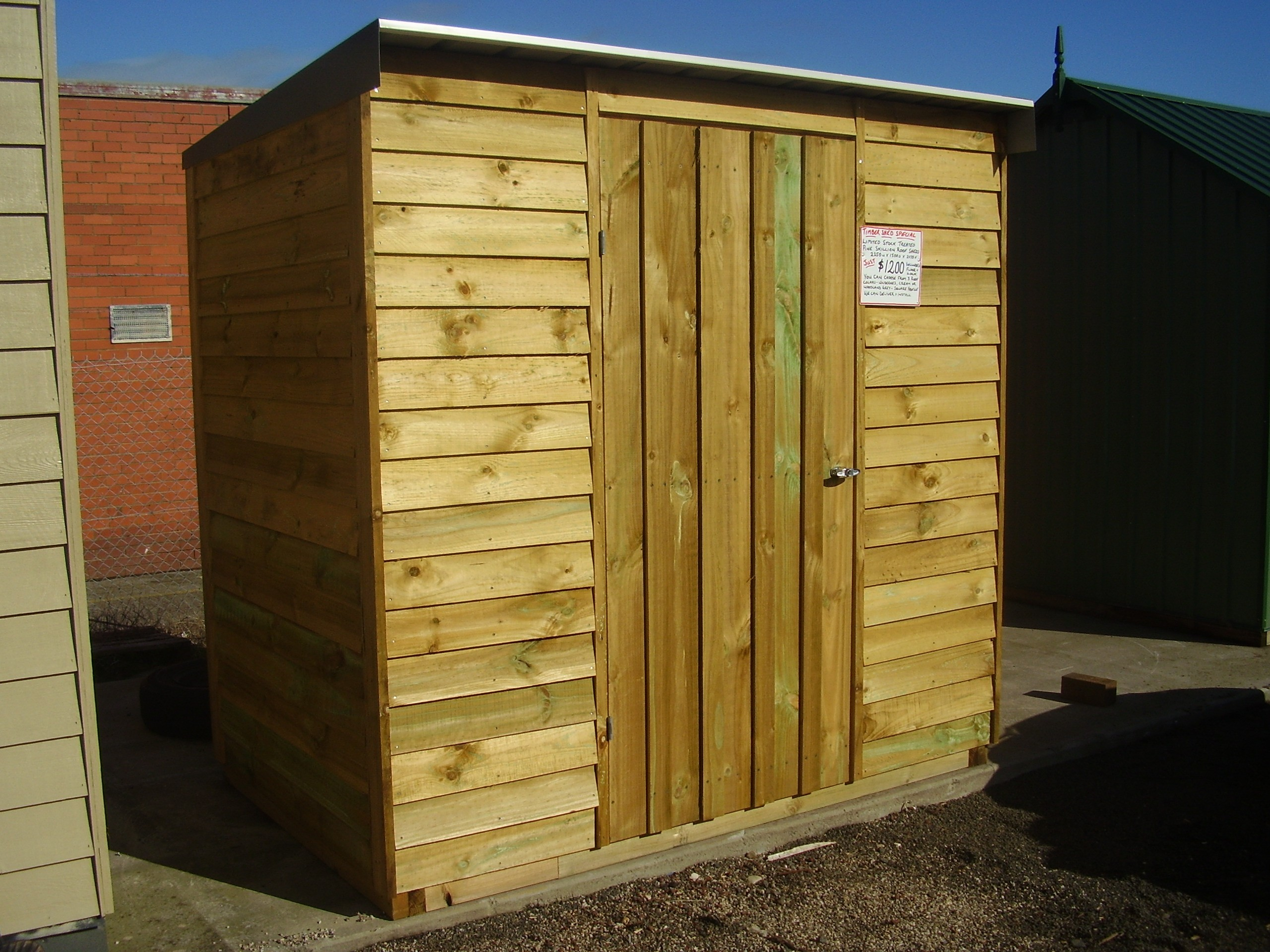 Timber Garden Shed