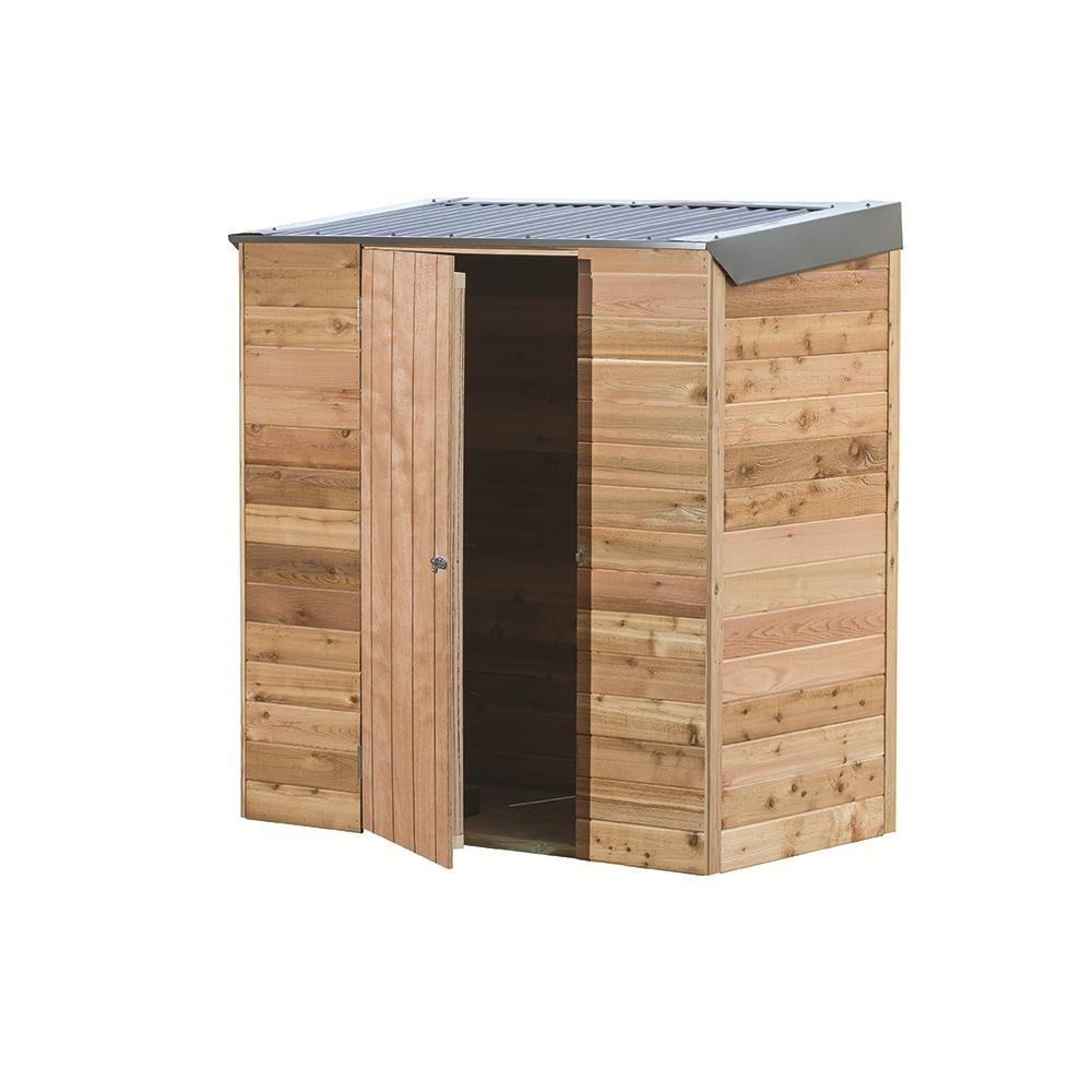 Garden Shed Interlock Cedar Shed Terrace A X 0