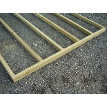 Timber floor frame and joists