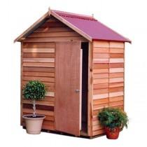 Garden Shed Cedar Shed Tecoma - 1.9m X 1.2m X 2.45m