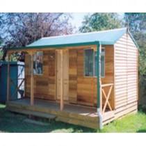 Garden Shed Settler's Hut Cedar Shed, Cabin, Studio 5.4m x 2.6m x 3.0mh