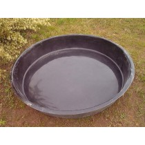 Pond Round Fibreglass Ponds, 4' Round  Fish Pond Water Feature Fountain