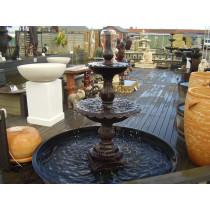 2 Tier Cast Iron Lisbon Fountain