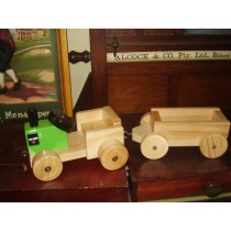 Toy Tractor & Trailer