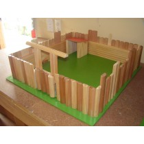 Toy Wooden Fort