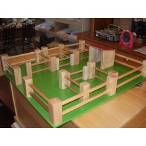Toy Wooden Farm