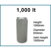 Rain Water Tank 1,000 Ltr Round