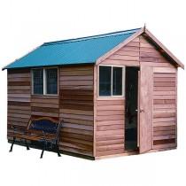 Garden Shed Cedar Shed Sherbrooke - 2.5mw x 3.6md x 2.65mh