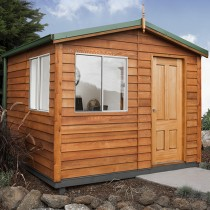 Garden Shed The Retreat Cedar Shed, Cabin, Studio 3.0w x 3.2d x 2.6h