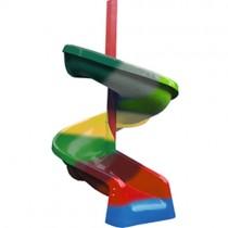Slide - Spiral Fibreglass Slide