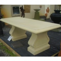 Outdoor al fresco dining table