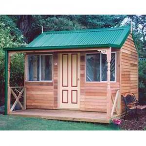 Garden Shed Settler's Hut Cedar Shed Cabin - Studio 3.6mw x 2.6md x 3.0mh