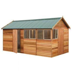 Garden Shed Cedar Shed Fernbrook - 2.5mw x 4.8md x 2.65mh