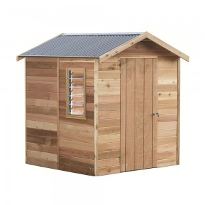 Garden Shed Interlock Cedar Shed - Highton - 1.94mw X 1.84md X 2.30mh