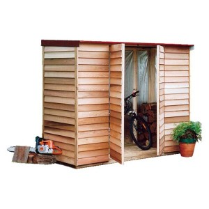 Garden Shed Cedar Shed Belgrave - 2.4m X 1.00m X 1.98m