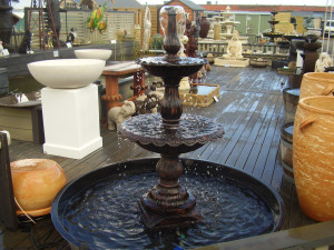 2 Tier Cast Iron Lisbon Fountain