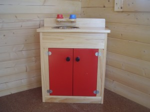 Kids Wooden Play Sink