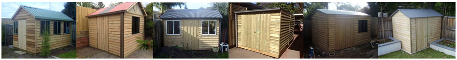 the garden sheds galore range of treated pine timber sheds provides quality choice and design to meet the needs of the discerning buyer