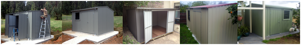 the garden sheds galore range of superior heavy duty steel sheds provides quality choice and design to meet the needs of the discerning buyer - Garden Sheds Galore